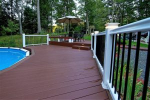 view of deck remodel