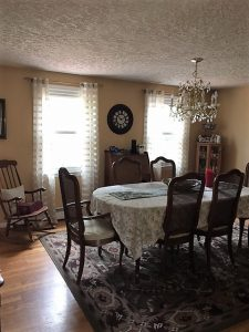 before dinning room remodel