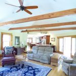 view of new open concept living area in Derry NH