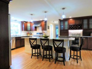 after view of kitchen remodel