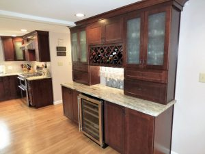 kitchen pantry and counter top installation