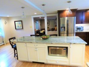 New counter top installation