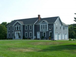 Front view of a home remodel in Hampstead NH