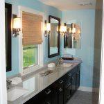 new master bathroom vanity installation