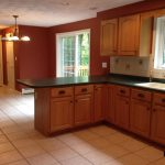 Before view of kitchen in Derry NH