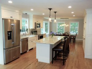 after view of kitchen in Hampstead NH