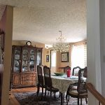 before view of dinning room
