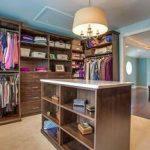 Walk-in closet remodel in master suite