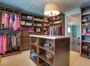 Walk-in closet remodel in master suite