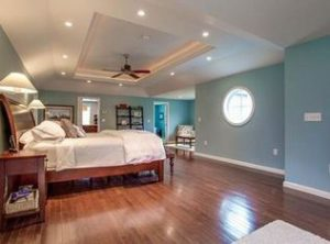 Master bedroom remodel in Hampstead NH