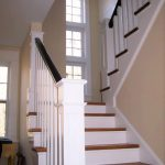 New stairway railings and balusters