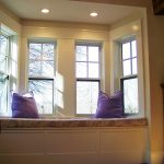 new window replacements in a kitchen nook