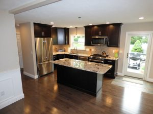 modern kitchen remodel in Hampstead NH