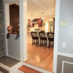 view of entrance to the newly remodeled kitchen in Hampstead NH