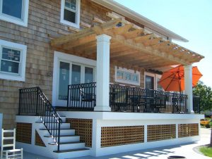 Deck installation and design in Hampstead NH