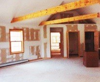 before view of home remodel