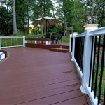 New deck addition in Portsmouth NH