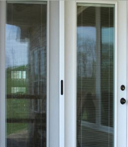 Designer door installation in Southern NH