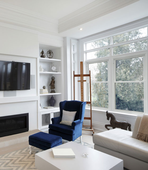 Eco light windows in a home in Hampstead NH