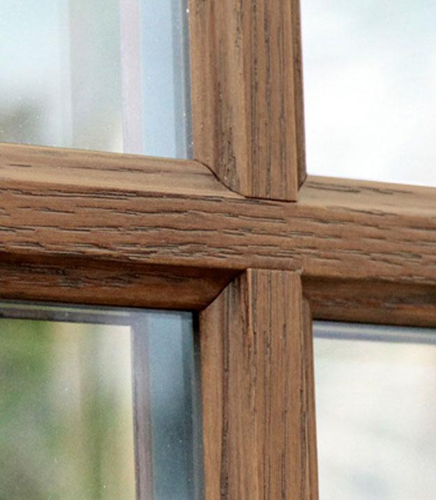 Grid window installation