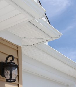 Soffit on a home in Dover NH