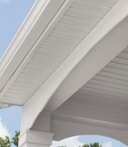 Soffit on a home in Exeter NH