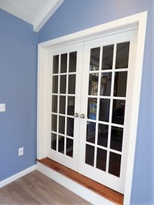 French doors installed in a home in Derry NH
