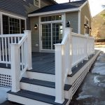 Composite deck railings in Hampstead NH