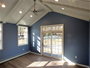 Transom windows installed in a home in Hampstead NH