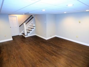 New basement addition in Hampstead NH