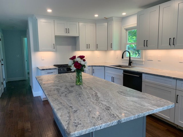 Beautiful Counter top installation in Hampstead NH