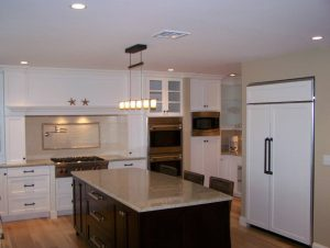 Kitchen Counter top installation in Southern NH
